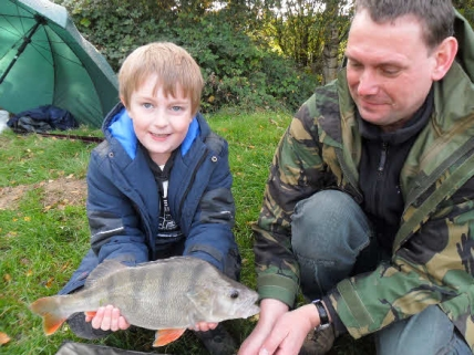 sussex perch angling fishing